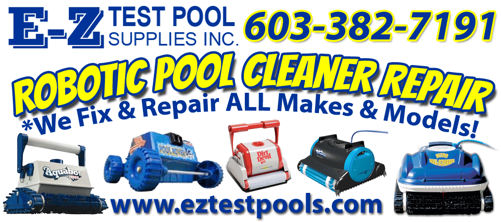We fix all makes and models of Robotic Pool Cleaners & Vacuums