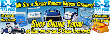 Automatic Robotic Pool Cleaner Vacuum Sales Repairs Service in NH & MA