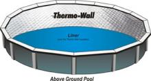 Thermo-Wall is an insulation barrier between your vinyl liner and pool wall.